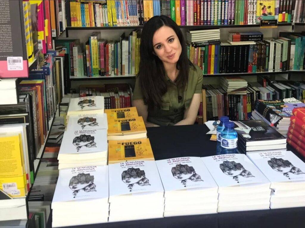 Alba Quintas - Feria del libro de Madrid - elescritor.es